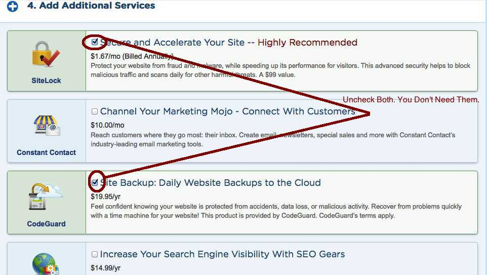 buy shared hosting step#6