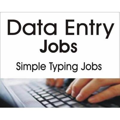 earn money from data entry work