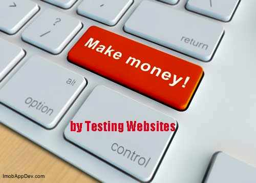 test websites and applications to make money