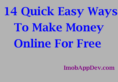 14 Easy Ways to Make Money Online for Free