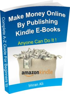 make money online from kindle e-books image