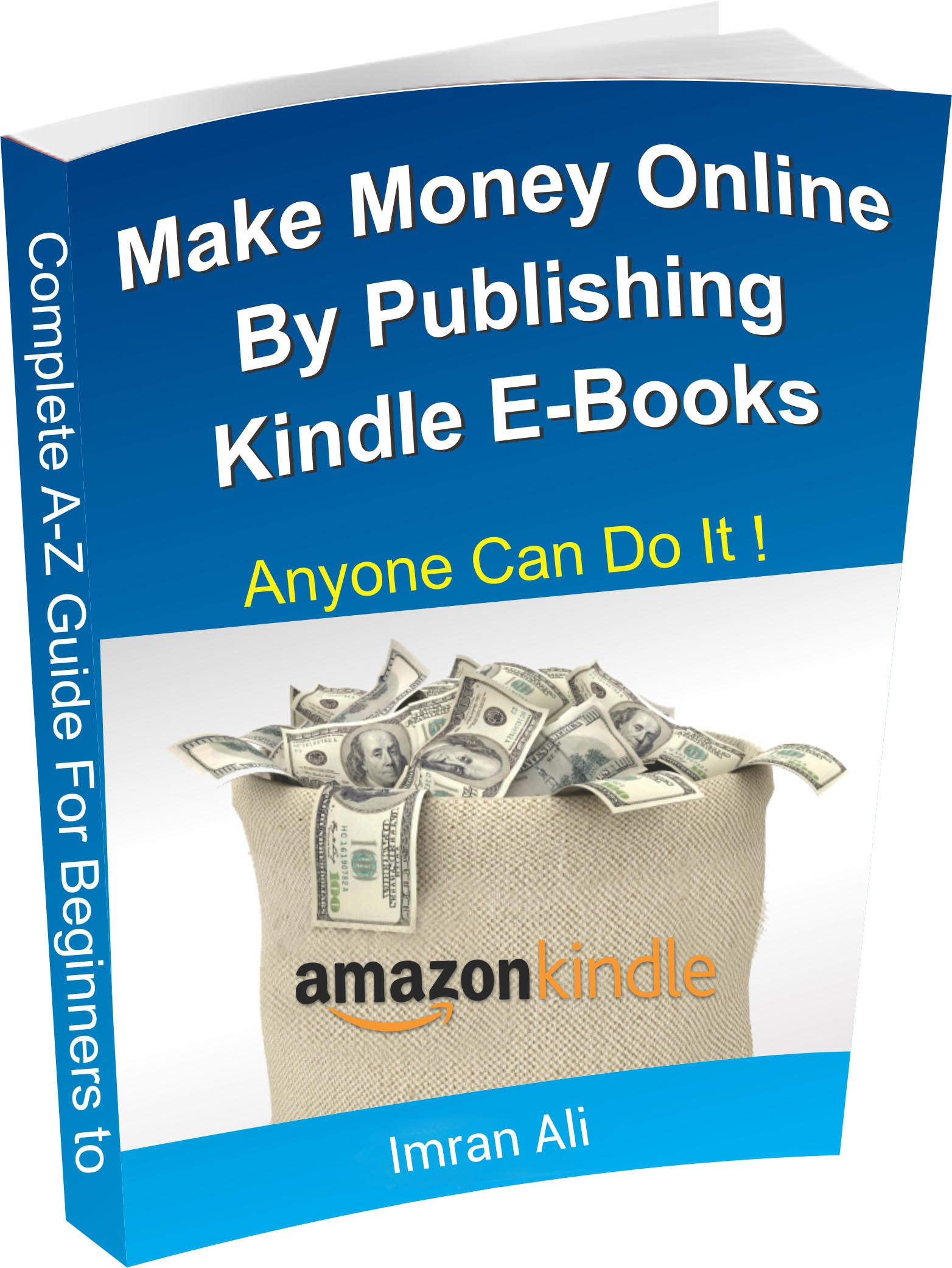 My book about making money by writing kindle books